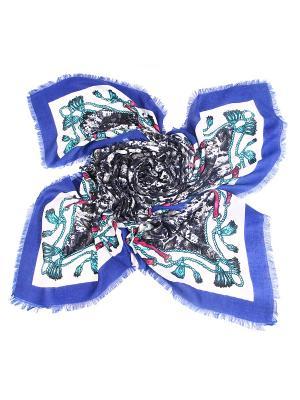 Платок MYLIKE. Цвет: синий