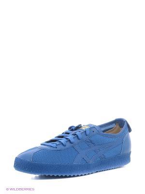 Спортивная обувь MEXICO DELEGATION ONITSUKA TIGER. Цвет: синий