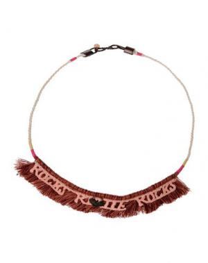 Ожерелье SCOTCH R'BELLE. Цвет: коричневый