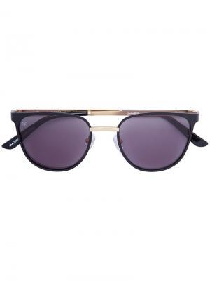 Солнцезащитные очки Money Smoke X Mirrors. Цвет: чёрный