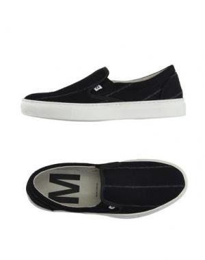 Низкие кеды и кроссовки MAURO GRIFONI. Цвет: черный