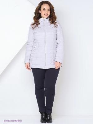 Куртка Vlasta. Цвет: светло-серый