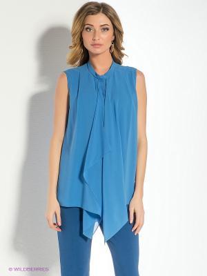 Блузка Personage. Цвет: голубой