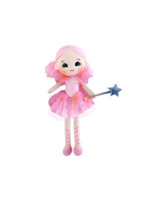Кукла Фея, 35 см Gulliver. Цвет: розовый