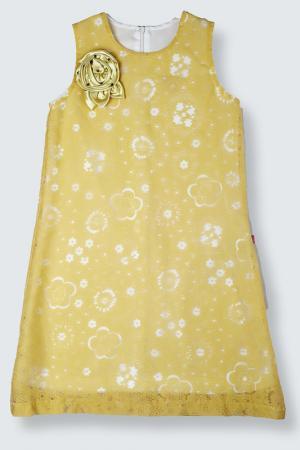 Платье Lilax Baby. Цвет: желтый