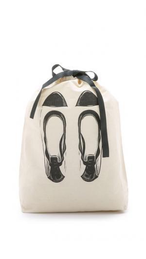 Сумка-органайзер с изображением балеток Bag-all