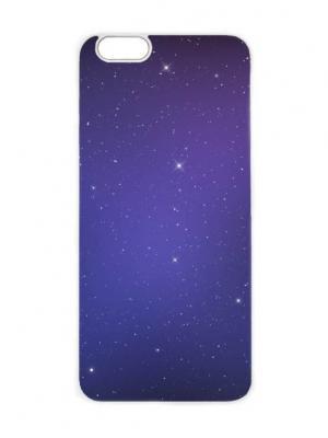 Чехол для iPhone 6 Космическая ночь Chocopony. Цвет: темно-фиолетовый, темно-серый, темно-синий