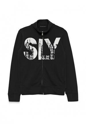 Олимпийка Sisley. Цвет: черный