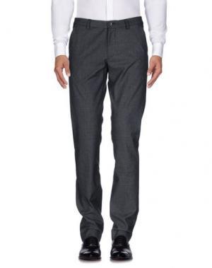 Повседневные брюки REVERES 1949. Цвет: серый