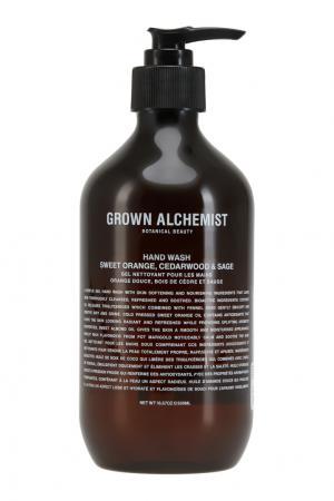Жидкое мыло для рук «Апельсин, кедр и шалфей» 500ml Grown Alchemist. Цвет: multicolor
