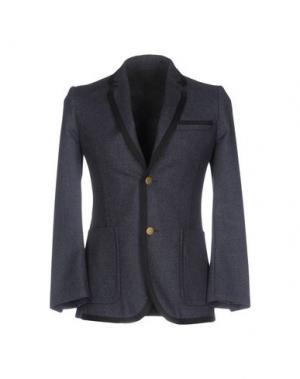 Пиджак MARC JACOBS. Цвет: грифельно-синий
