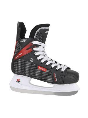 Коньки хоккейные TEMPISH 2016-17 BOSTON black (EUR:44). Цвет: черный