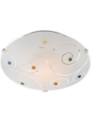 Светильник настенно-потолочный Globo.. Цвет: серебристый