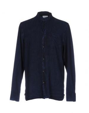 Pубашка WESC. Цвет: темно-синий