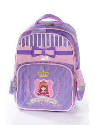 Рюкзак Vittorio Richi. Цвет: сиреневый, розовый