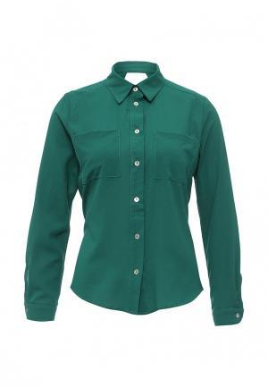 Рубашка Be In. Цвет: зеленый