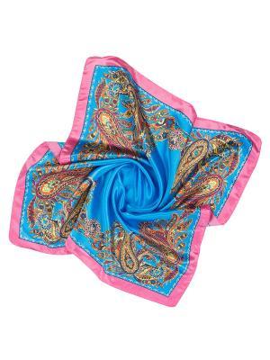 Платок женский Charmante. Цвет: голубой