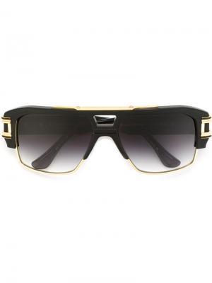 Солнцезащитные очки Grandmaster Four Dita Eyewear. Цвет: чёрный