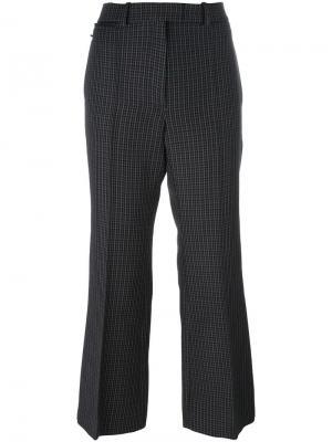 Расклешенные брюки Nina Ricci. Цвет: серый
