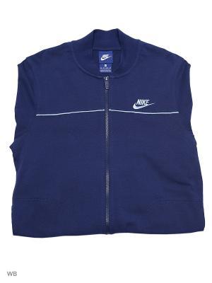Спортивный костюм M NSW TRK SUIT JSY CLUB Nike. Цвет: синий