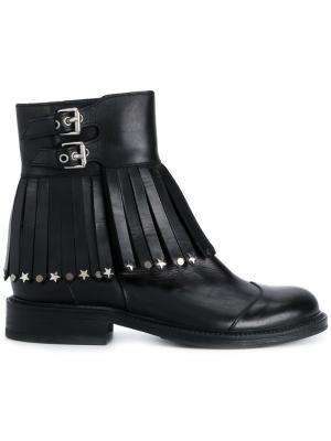 Декорированные ботинки Htc Hollywood Trading Company. Цвет: чёрный