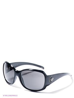 Солнцезащитные очки ROXY. Цвет: черный