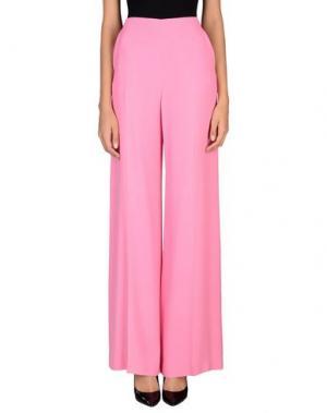 Повседневные брюки EMANUEL UNGARO. Цвет: розовый