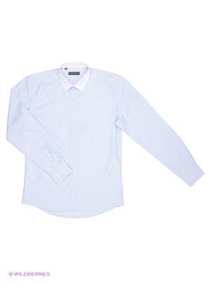 Рубашка Favourite. Цвет: голубой