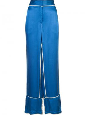 Raniyah trousers By Malene Birger. Цвет: синий