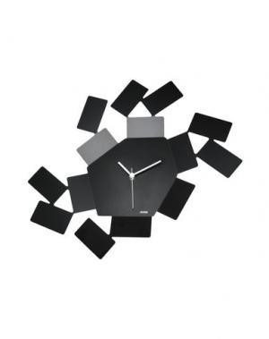 Настенные часы ALESSI. Цвет: черный