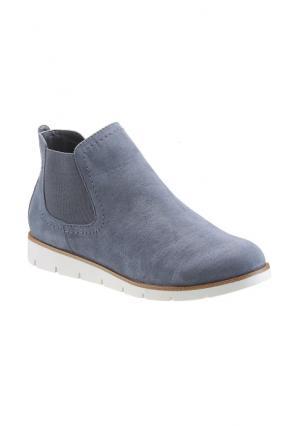 Ботинки Arizona. Цвет: джинсовый синий