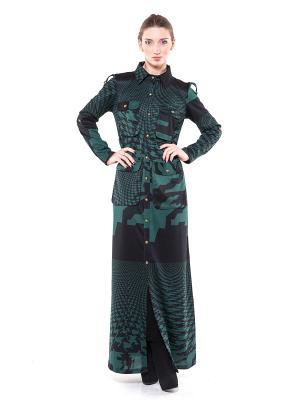Платье зеленое Glam Goddess