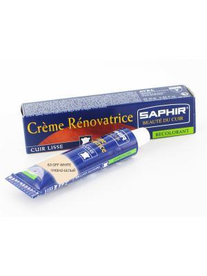 Восстановитель кожи Creme RENOVATRICE, 25 мл. (жидкая кожа)(СКОРЛУПА - 63) Saphir. Цвет: молочный