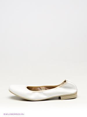Балетки Tamaris. Цвет: белый
