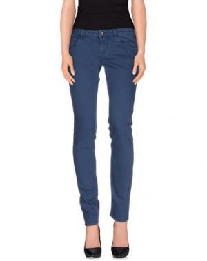 Джинсовые брюки UNLIMITED. Цвет: грифельно-синий