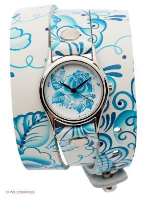 Часы DenisMart. Цвет: белый, голубой