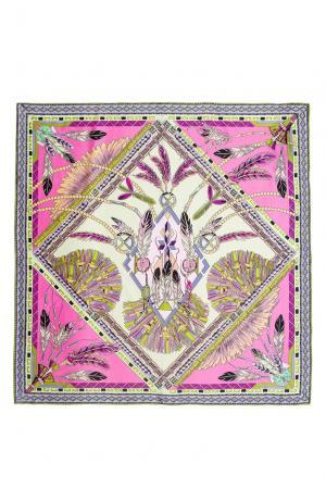 Шелковый платок 183394 Moltini. Цвет: разноцветный