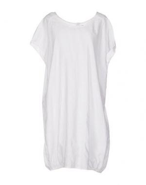 Короткое платье LOCAL APPAREL. Цвет: белый