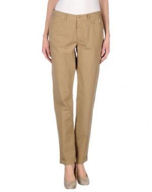 Повседневные брюки JAGGY. Цвет: хаки