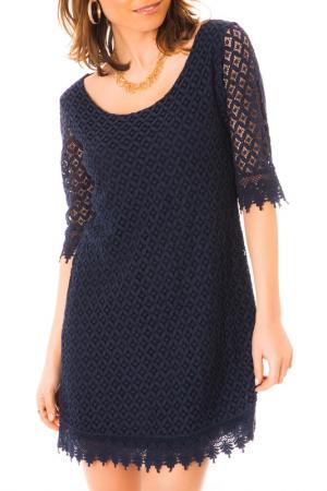 Платье LES GAMINES DE PARIS. Цвет: синий