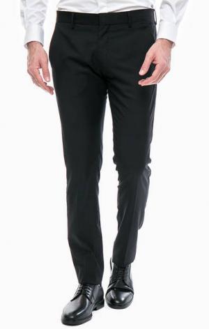 Черные зауженные брюки Antony Morato. Цвет: черный