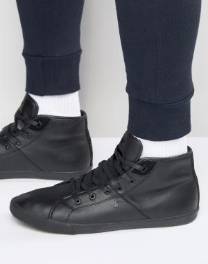 Boxfresh Кожаные кроссовки Archit. Цвет: черный