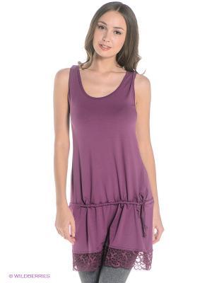 Платье Sport Vision. Цвет: лиловый