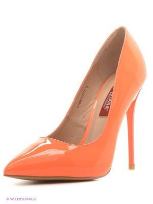 Туфли MILANA. Цвет: оранжевый