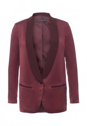 Пиджак Trussardi Jeans. Цвет: бордовый
