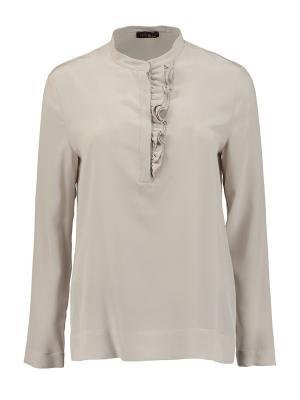 Блуза Peserico. Цвет: светло-серый
