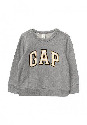 Свитшот Gap. Цвет: серый