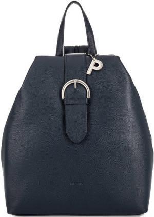 Синий рюкзак из натуральной кожи Picard. Цвет: синий