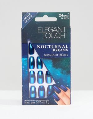 Elegant Touch Накладные ногти Nocturnal Dreams. Цвет: синий