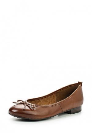 Балетки Tamaris. Цвет: коричневый
